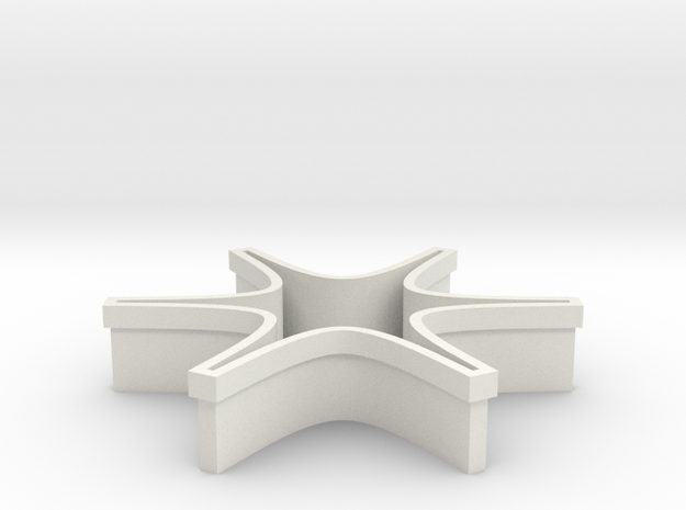 Shapeways Spark Origin in White Strong & Flexible