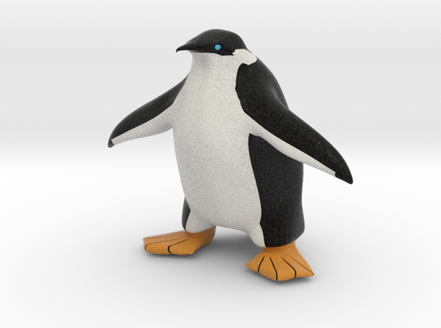 Tux the Penguin 3d printed
