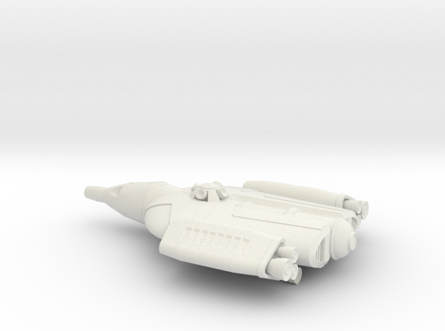 NASC Gemini Defiant (fixed) in White Natural Versatile Plastic