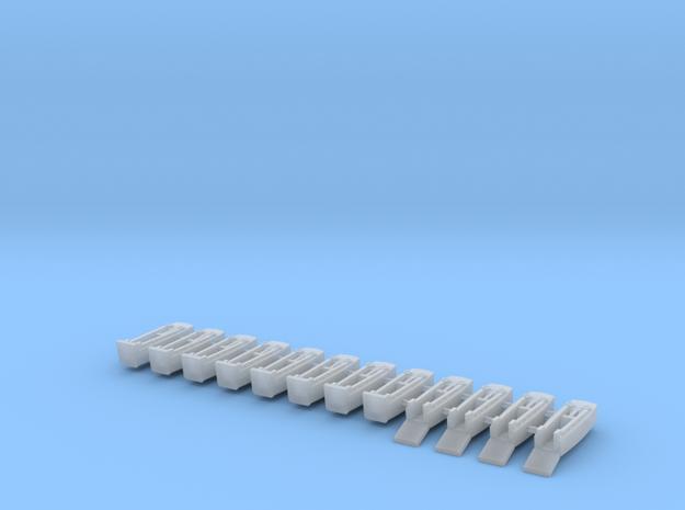 1/600 LCVP (x12) in Smooth Fine Detail Plastic