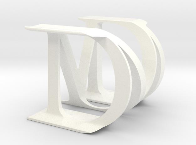M&D big 3d printed