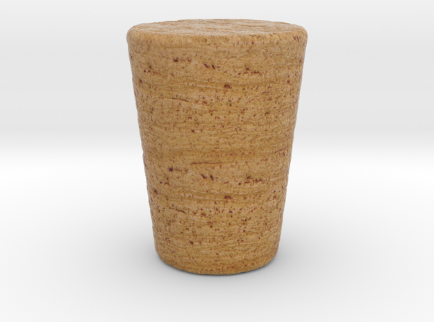 Cork For Poison Bottle in Full Color Sandstone