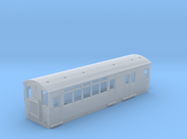 Southern Railway/WCPR No 5. Drewry Railcar in Smooth Fine Detail Plastic