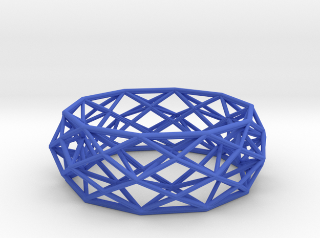 Bracelet Constructionist size L  3d printed