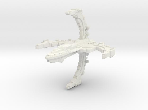 FireTross Class Assault Destroyer 3d printed