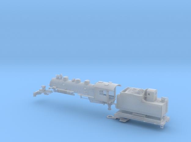 N-Scale Rio Grande L-77 2-6-6-0 Steam Locomotive