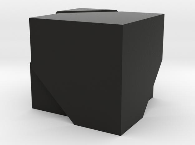 hexaeder halbiert 3d printed