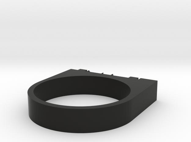 """FLAME"" Ring 3d printed"