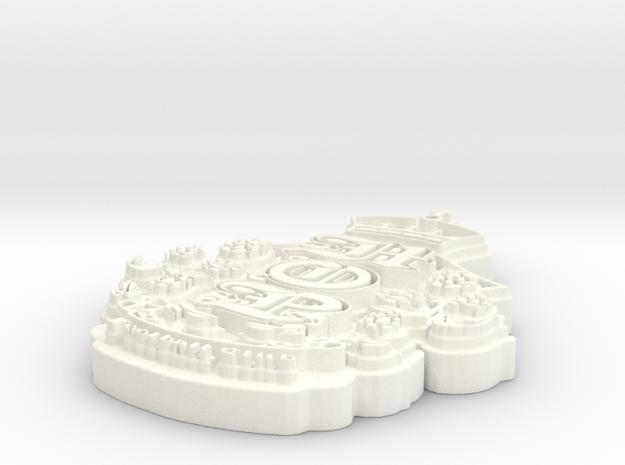 HOPFC_Emblem 3d printed