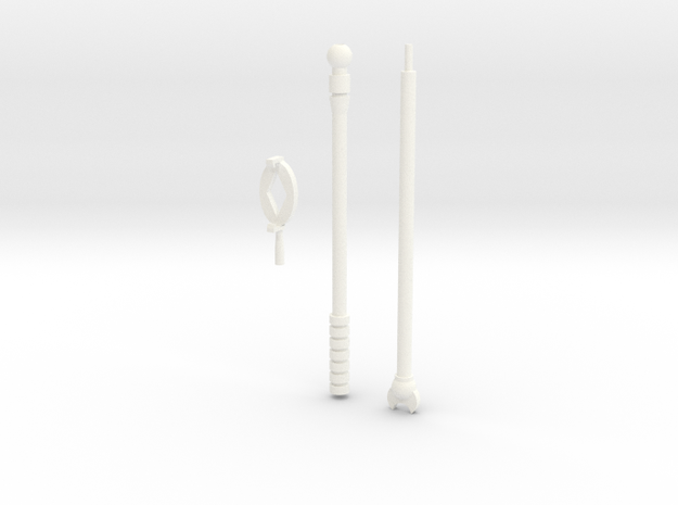 Countstaff #1 in White Processed Versatile Plastic