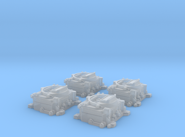 1/16 Carter 4 BBL Carburetors in Frosted Ultra Detail