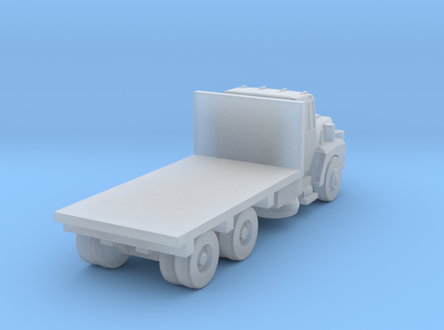 Mack Flatbed Truck - Nscale in Smooth Fine Detail Plastic