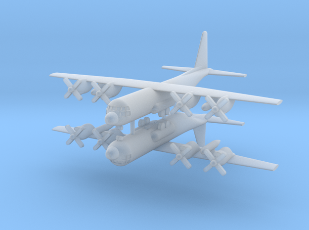 1/600 C-130H Hercules (x2) in Smooth Fine Detail Plastic