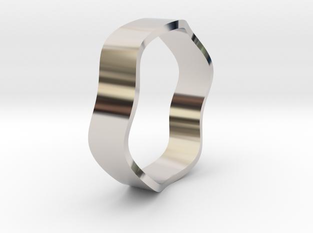 Sine Ring Flat 18mm 3d printed