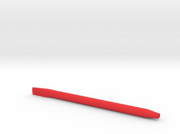 Nadelhalter in Red Processed Versatile Plastic