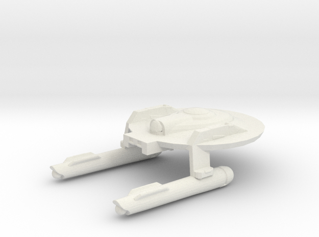 System Fleet Escort in White Natural Versatile Plastic