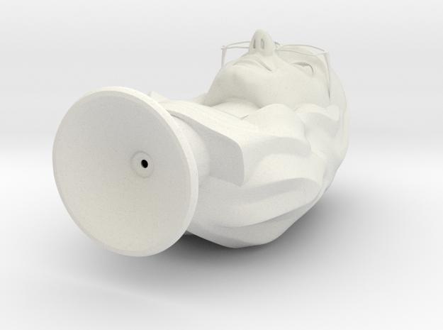 JonnyBust 2mm (corrected) in White Strong & Flexible