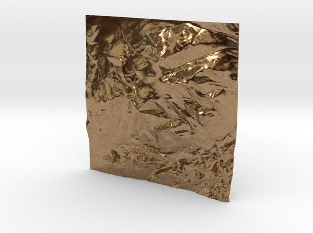3'' Whiteface Mtn. Terrain Model, New York, USA 3d printed