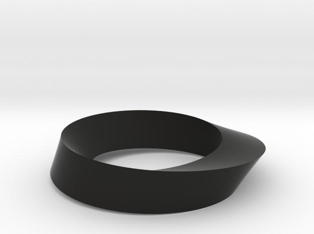 Mobius Loop - Triangle 1/3 twist 3d printed