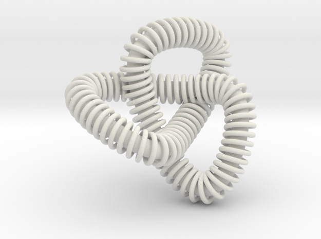 knot complicated in White Natural Versatile Plastic