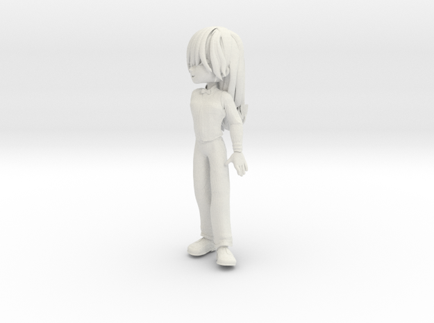 Alleychibi3 in White Natural Versatile Plastic