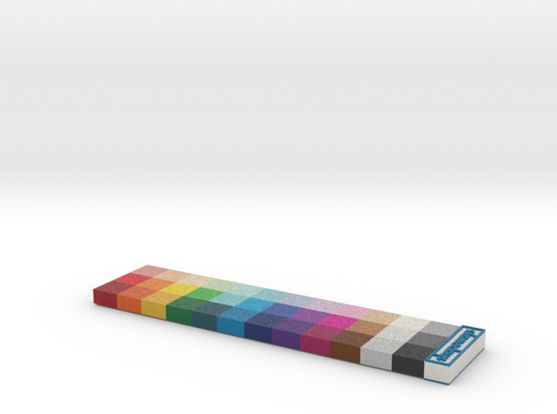 Shapeways Full Color Calibration Palette 3d printed