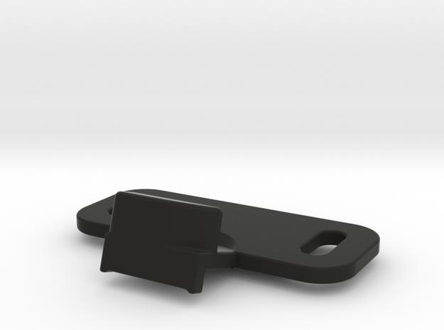 Lock GloveBox in Black Strong & Flexible