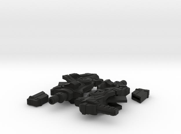Snack-Cakes: Machine Pistols 3d printed