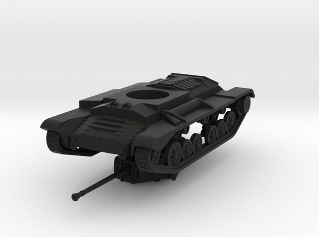 Vehicle- Valentine Tank MkXI (1/87th) 3d printed