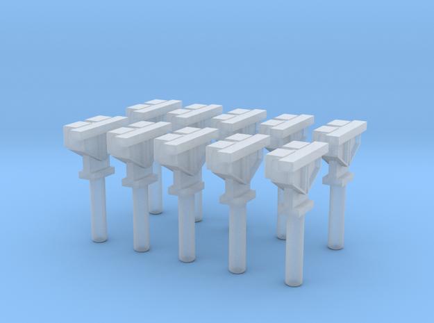 H0 1:87 Achsz盲hlkontakt (10 Stk) in Smooth Fine Detail Plastic