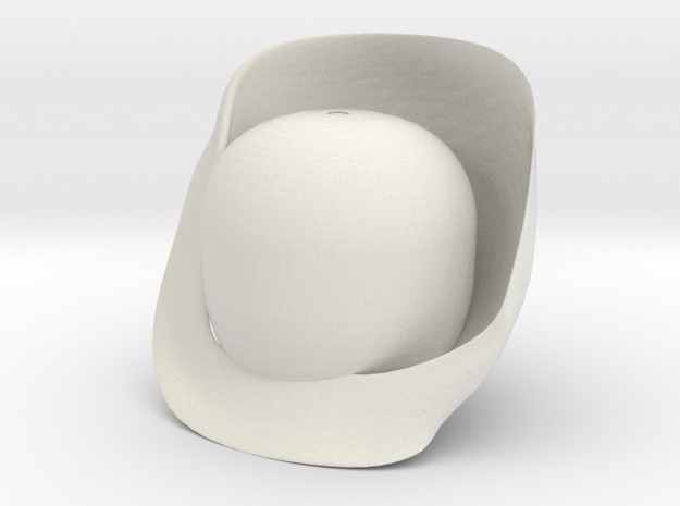 Troféu - Diário escola de Design Thinking in White Natural Versatile Plastic