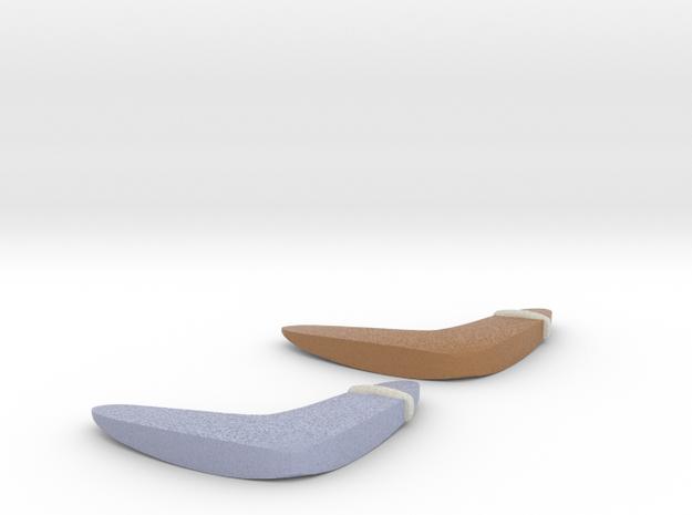 Zelda Fan Art: TLoZ: Boomerangs in Full Color Sandstone