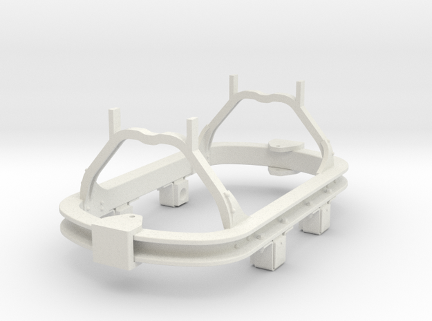 1:35 scale 16.5mm gauge skip chassis 3d printed