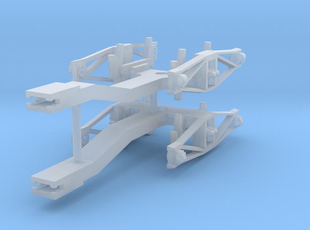 ZB & LBPH (H0e) - Ersatzdrehgestelle für Payerbach in Smooth Fine Detail Plastic