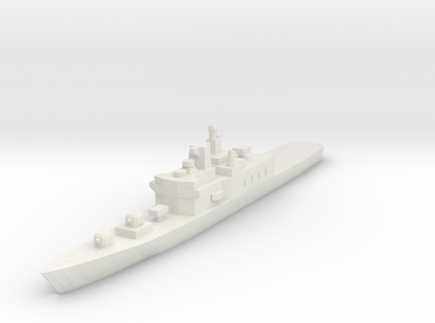 Shirane 1:700 x1 in White Natural Versatile Plastic