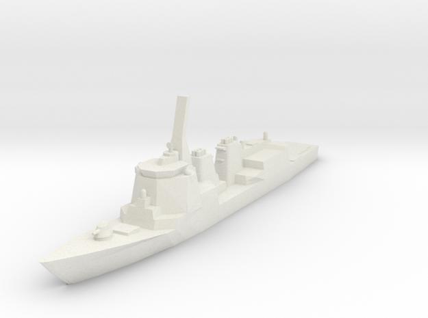 Atago 1:700 X1 in White Natural Versatile Plastic