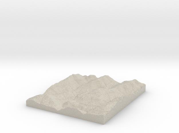 Model of Banyard 3d printed