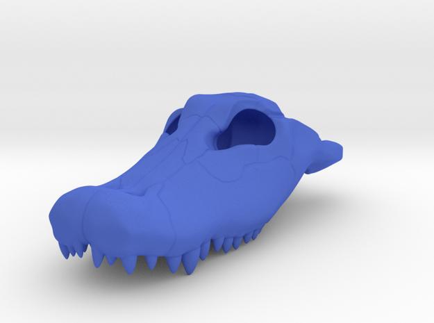 Alligator Skull Charm - 3DKitbash.com 3d printed