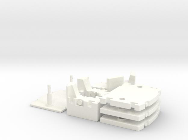 LTM 1250-6-1 Counterweight 1:50 in White Processed Versatile Plastic