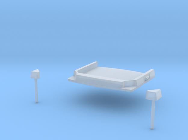 0400-D-87_Dach für Econicfahrerhäuser in Smooth Fine Detail Plastic