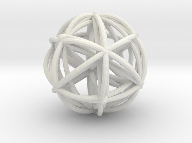 A4 in White Natural Versatile Plastic