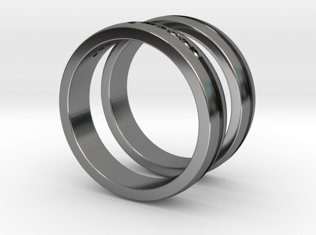 #255 Wedding Rings for Man and Woman