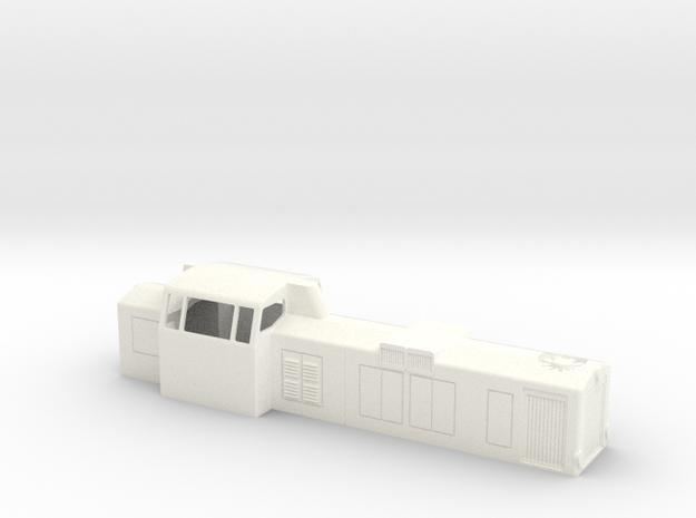 H0 Dv12-2500 vanha / old in White Processed Versatile Plastic