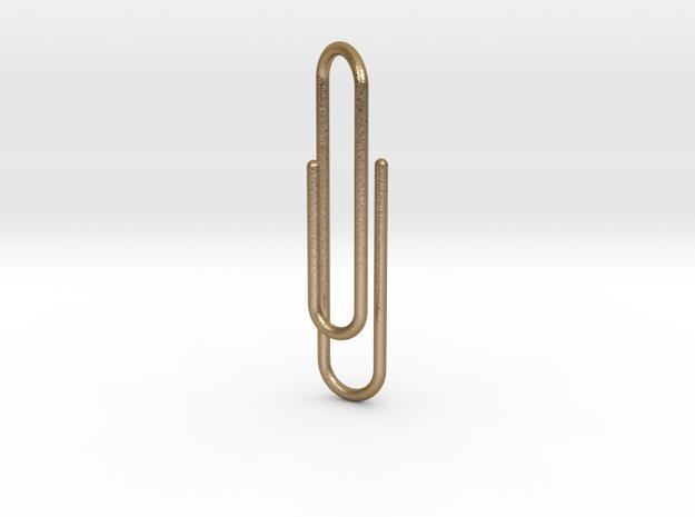 Clip tie bar lg 3d printed