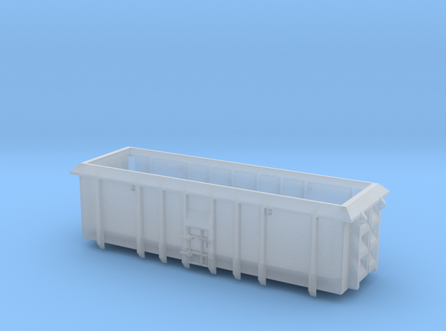 ASW Scrap Wagon PO-022a-d for N Gauge 1:148 in Smooth Fine Detail Plastic