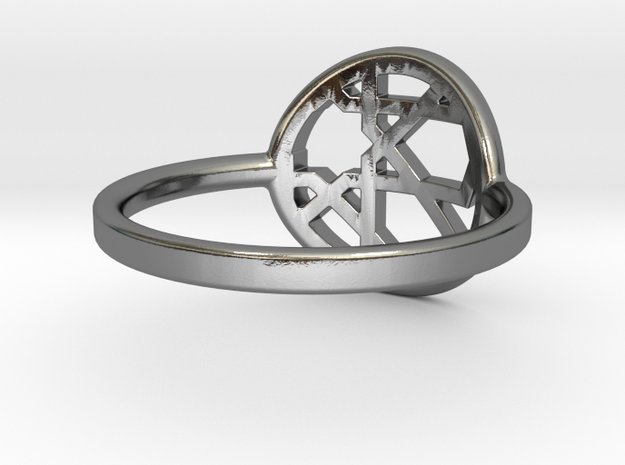 Hibiscus Ring- Multiple Sizes 3d printed