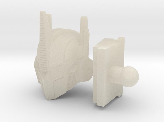 Hunting Beast OP Prime Head & Neck 3d printed