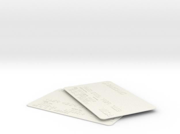 Cash4u in White Natural Versatile Plastic