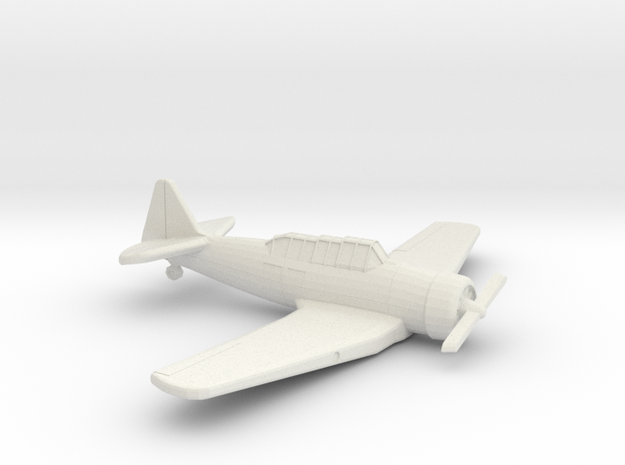 1:200 CAC WIRRAWAY/T6 in White Natural Versatile Plastic