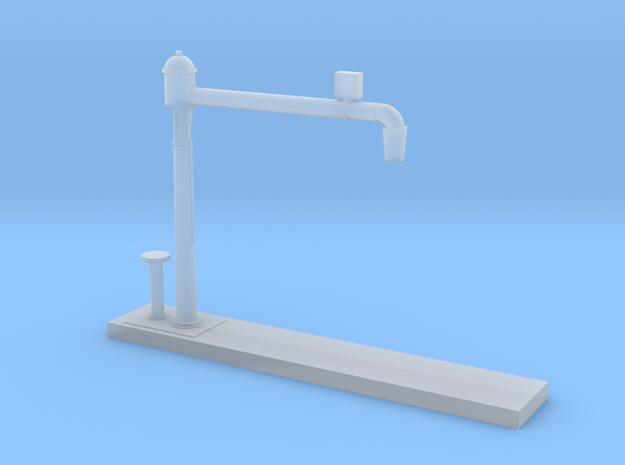 Z Scale Water Crane Model Variant B in Smooth Fine Detail Plastic